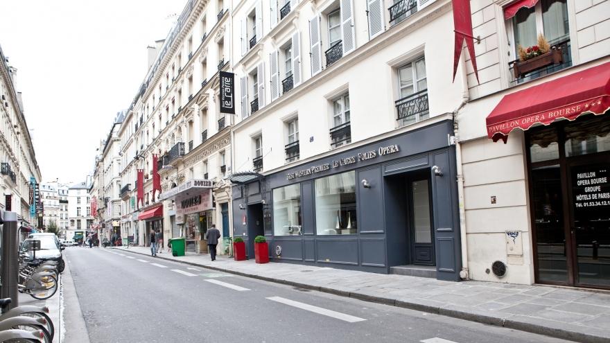 Best western premier le carre folies opera paris for Meilleur prix hotel paris
