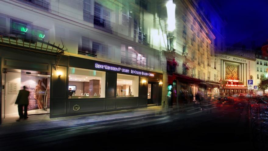 Best western premier le carre folies opera paris for Reservation hotel meilleur prix